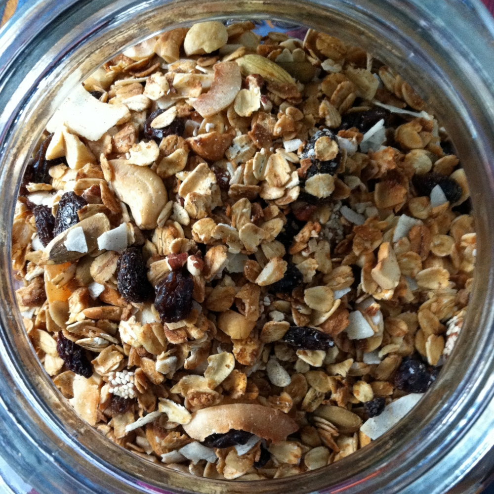 spiced granola for grown-ups - Heirloom Mothering