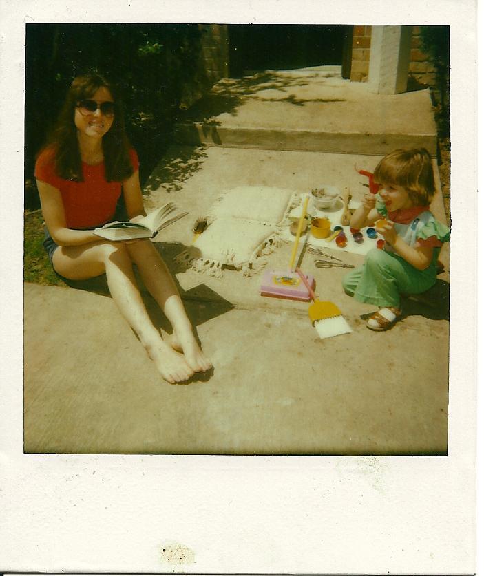 Mom & Me, 1984ish, Texas