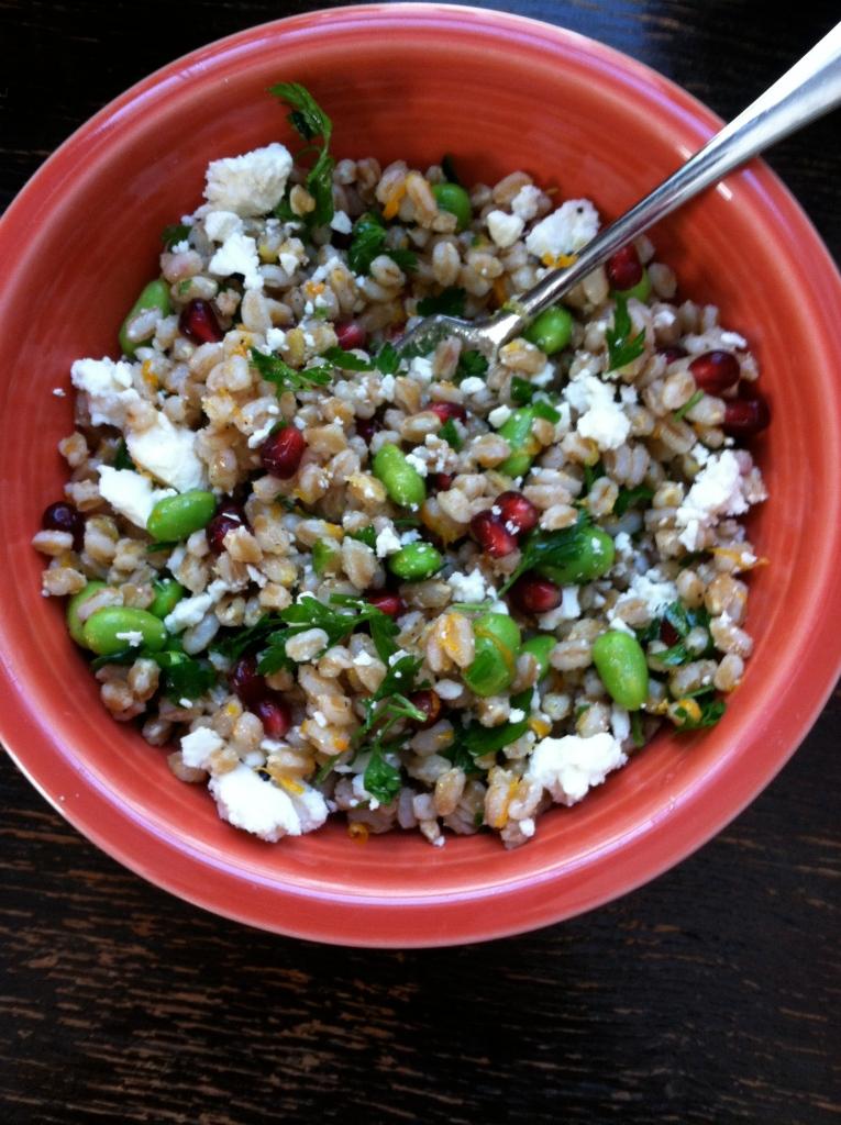 winter potluck salad - heirloom mothering